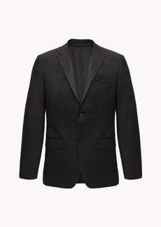 Theory Wool Wellar Tuxedo Blazer