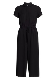 Theory Workwear Silk Jumpsuit