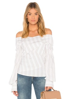 Theory Wrapped Blouse