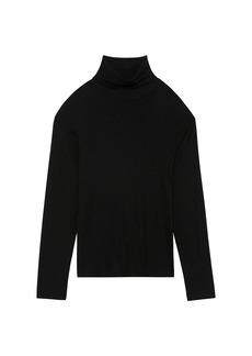 Theory Wyndem Ribbed Turtleneck Sweater