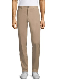 Theory Zaine Patton Stretch Cotton Trousers