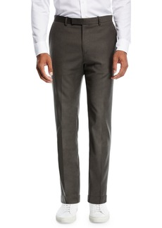 Theory Zaine Tailored Flannel Suit Pants