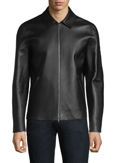 Theory Zerega Wells Leather Jacket