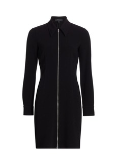 Theory Zipper Shirtdress