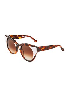 Thierry Lasry Aristocracy 008 Round Havana Sunglasses