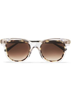 Thierry Lasry Savvvy Cat-eye Tortoiseshell Acetate And Gold-tone Sunglasses