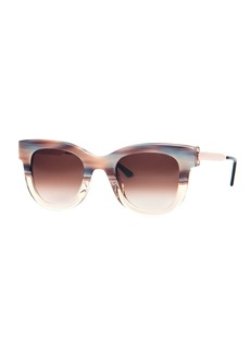 Thierry Lasry Sexxxy Acetate & Metal Polarized Sunglasses
