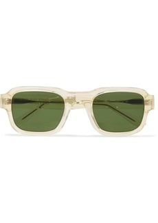 Thierry Lasry Enfants Riches Déprimés The Isolar Square-frame Acetate Sunglasses