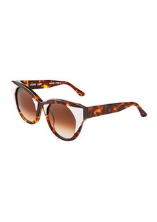 Thierry Lasry Aristocracy 008 Round Havana Sunglasses