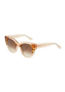 Thierry Lasry Aristocracy 2207 Plastic/Metal Round Sunglasses
