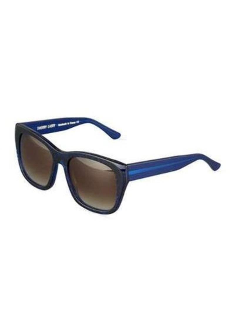 Thierry Lasry Blasty Printed Square Acetate Sunglasses