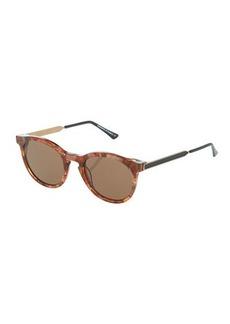 Thierry Lasry Boundary V634 Plastic/Metal Round Sunglasses