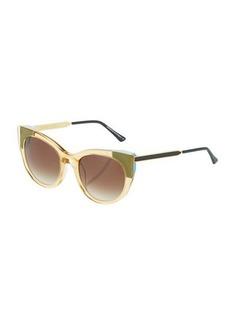 Thierry Lasry Bunny 866 Plastic/Metal Cat-Eye Sunglasses