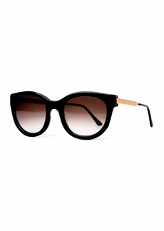 Thierry Lasry Lively Limited Edition Vintage-Pattern Square Sunglasses