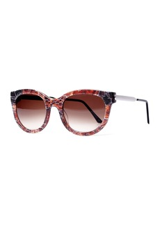 Thierry Lasry Lively LQ Cat-Eye Lace Sunglasses