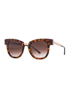 Thierry Lasry Mondanity Notched Butterfly Sunglasses