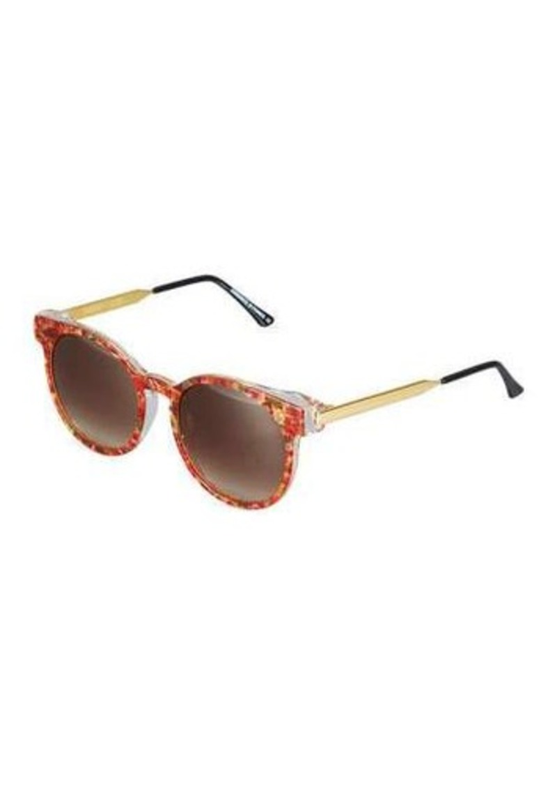 Thierry Lasry Painty Round Floral-Print Sunglasses