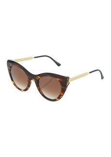 Thierry Lasry Perky 199 Plastic/Metal Cat-Eye Sunglasses