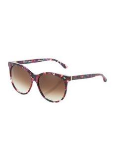 Thierry Lasry Screamy V292 Plastic Round Sunglasses
