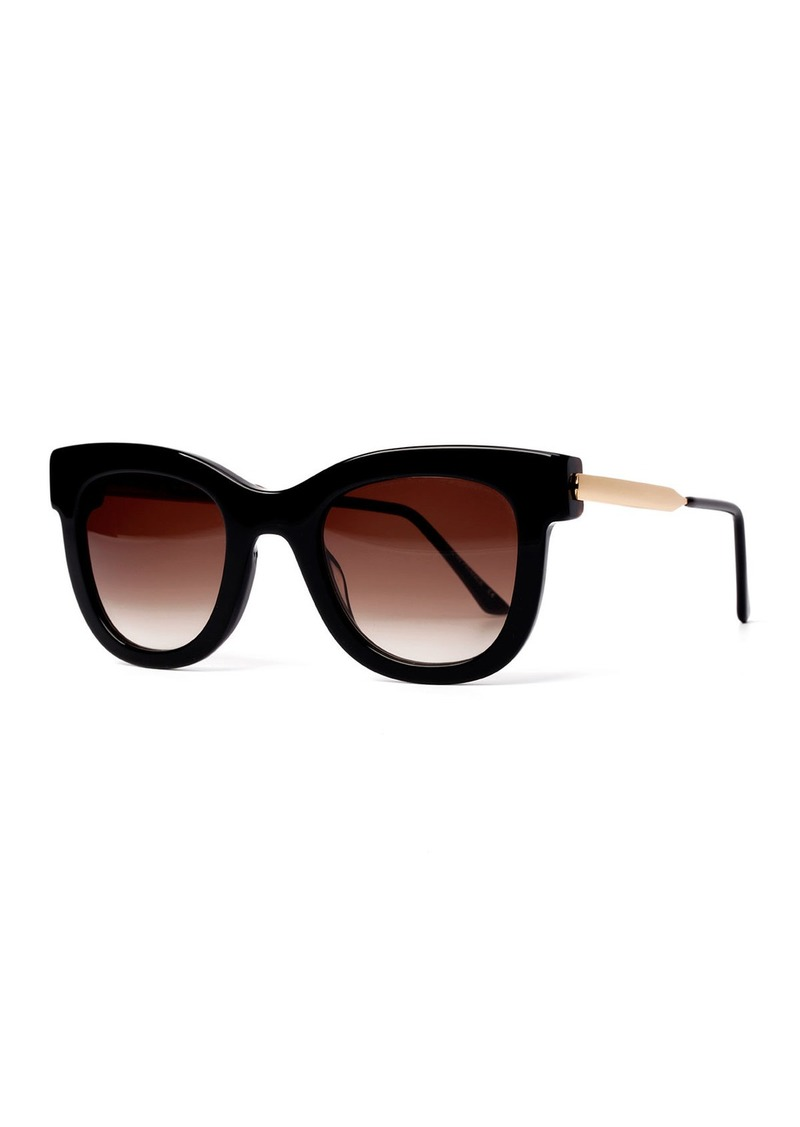 Thierry Lasry Sexxxy Butterfly Sunglasses  Black