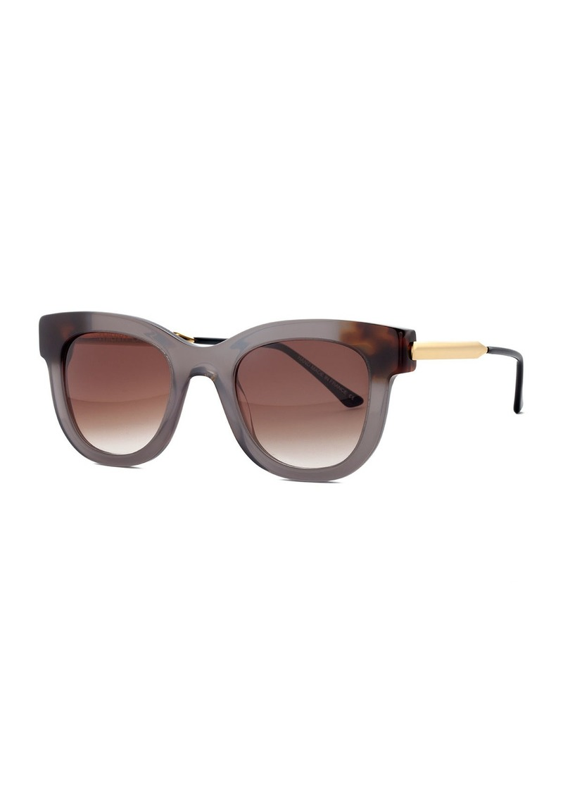 Thierry Lasry Sexxxy Ombre Acetate & Metal Polarized Sunglasses