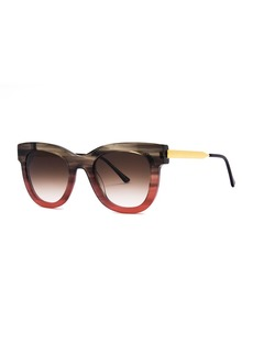 Thierry Lasry Sexxxy Ombre Acetate/Metal Sunglasses