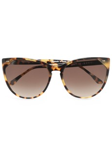 Thierry Lasry Woman Cat-eye Acetate Sunglasses Brown
