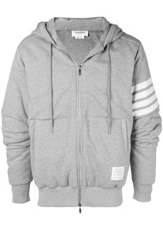 Thom Browne 4-Bar Articulated Oversized Hoodie