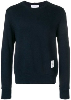 Thom Browne 4-Bar Honeycomb Piqué Sweatshirt