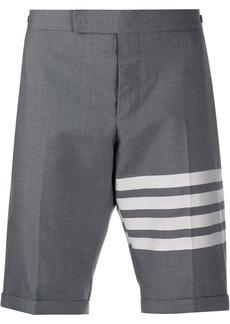 Thom Browne 4-Bar plain weave suiting shorts
