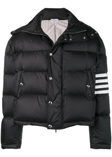 Thom Browne 4-bar Matte Nylon Bomber
