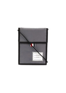 Thom Browne 4-Bar neck pouch