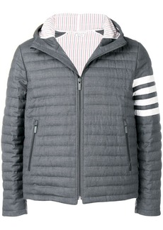 Thom Browne 4-bar Quilted Down Jacket