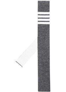 Thom Browne 4-Bar stripe knit tie
