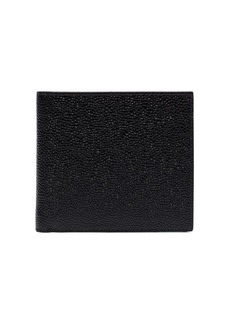 Thom Browne Billfold In Pebble Grain