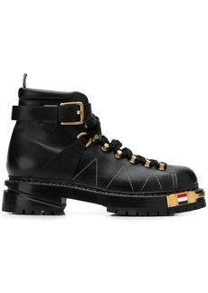 Thom Browne calfskin hiking boots