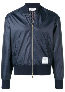 Thom Browne Center-back Stripe Ripstop Bomber