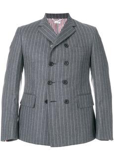 Thom Browne Chalk Stripe Pintuck Sport Coat