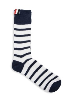 Thom Browne Chunky Rib Stripe Socks