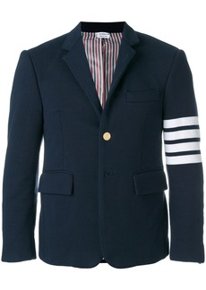 Thom Browne 4-bar Jersey Sport Coat