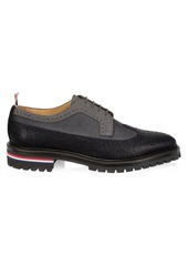 Thom Browne Classic Longwing Broques