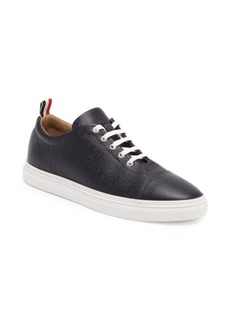 Thom Browne Classic Pebbled Leather Trainers