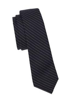 Thom Browne Classic Pinstripe Wool Tie