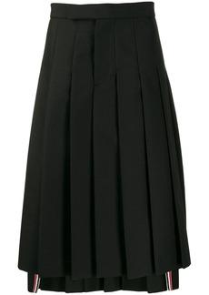 Thom Browne Classic Rise Pleated Skirt