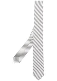 Thom Browne Classic Seersucker Tie