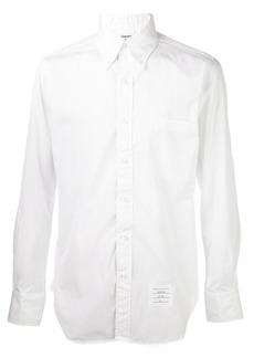 Thom Browne grosgrain placket shirt