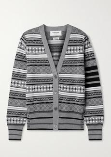 Thom Browne Cotton-jacquard Cardigan