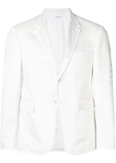 Thom Browne Cotton Twill Grosgrain-Tipped Classic Sport Coat
