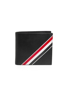 Thom Browne Diagonal Stripe Leather Wallet