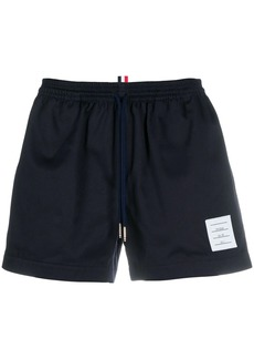 Thom Browne drawcord waistband rugby shorts